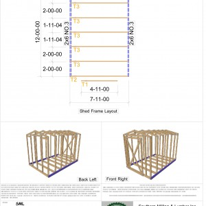 Shed Truss